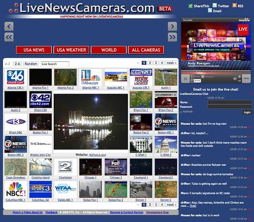 Checking in on LiveNewsCameras.com