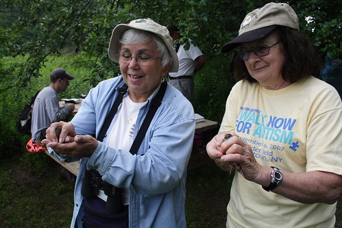 Linda and Judy Release Sparrows