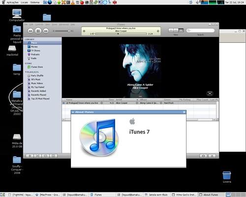 iTunes no linux
