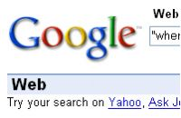 Screenshot do CustomizeGoogle