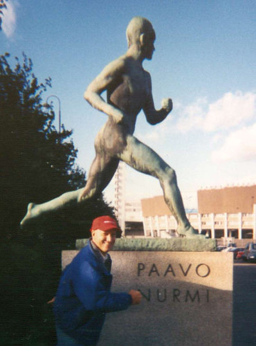Paavo Nurmi and Tom Humbarger