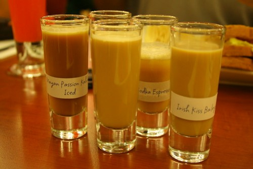 Spiked Coffee Shots