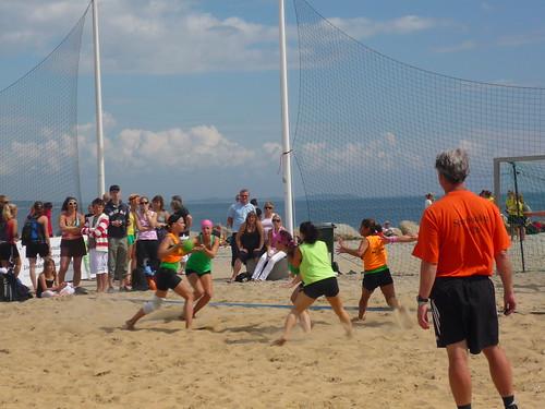 Åhus Beach Handball tournament