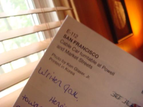 postcard round robin
