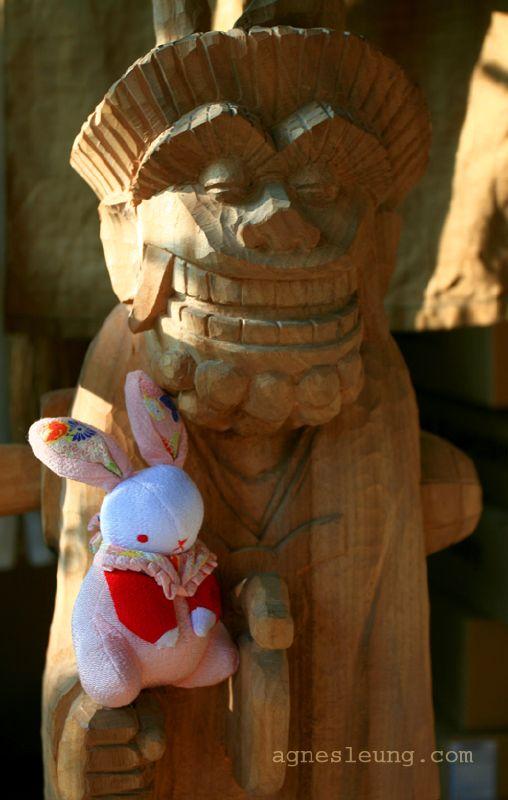 小兔與木偶