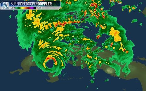 Hurricane Gustav radar fix in Cuba
