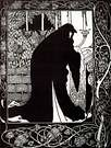 Aubrey Beardsley. How Queen Guenever Made Her a Nun, 1893-94.