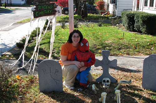 Mommy and Spiderman