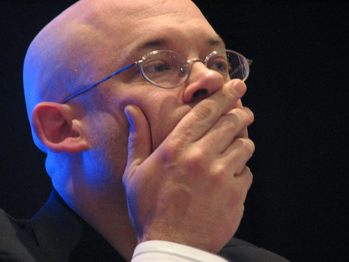 A Pensive Clay Shirky