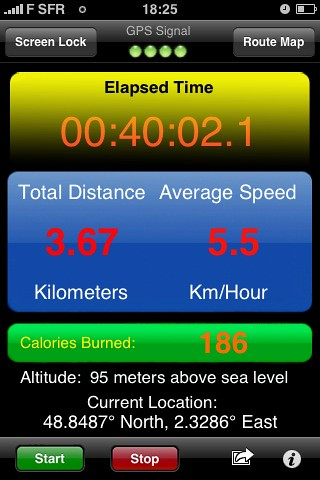 40mn brisk walking. Sent from my iPhone