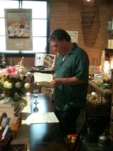 reading at Fromagination