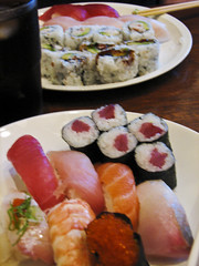 photo of sushi at Eiji Restaurant San Francisco
