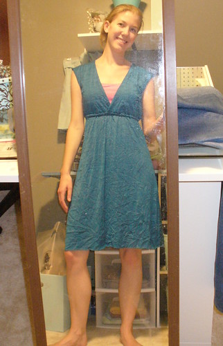 blue crinkle dress 1 by you.