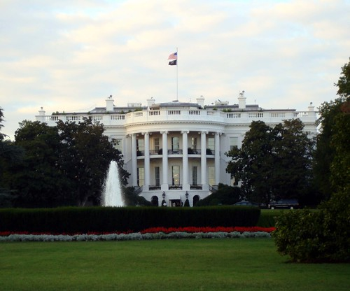 beaded White House east west wing Barack Obama pop art beadwork bead embroidery blog