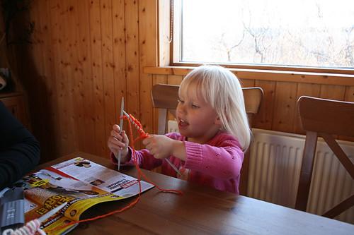 Karitas the knitter
