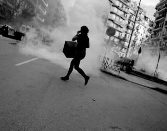Riots in Thessaloniki -Greece