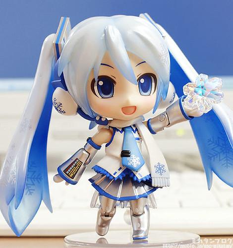 2011's Nendoroid Snow Miku: Snow Playtime Edition