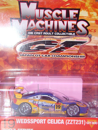 Muscle Machines Super GT cars