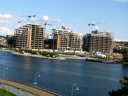 Olympic Villiage Progress: Aug. 2008