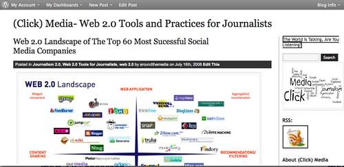 Il mio blog su WordPress- Strumenti stile 2.0 per giornalisti