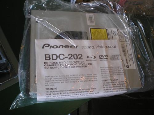 Pioneer Blu-ray drive