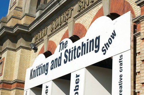 Wool gathering at the Knitting and Stitching Show (1/5)