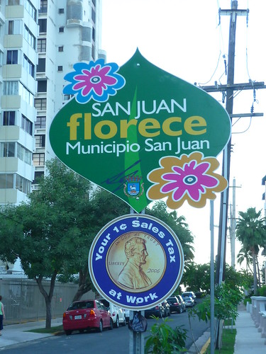 San Juan in bloom