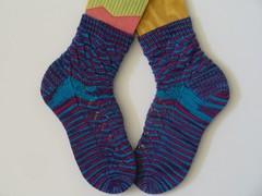 Socks for my sockapalooza 4 pal