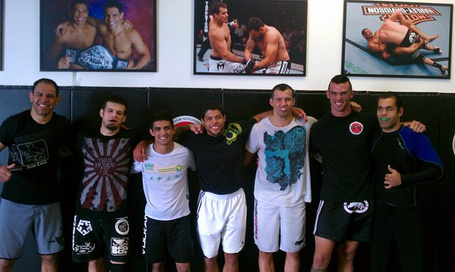 Great training day at Black House Nog San Diego