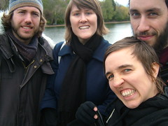 Paul, Carmen, Lucy, Jamie in Hyde Park, London