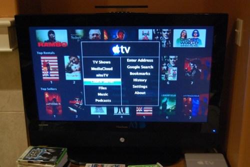 AppleTV hacked!