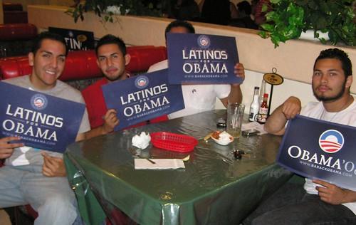 Latino Presidential Debate Watch Party 10.7.08 055.JPG von Barack Obama.