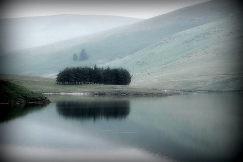 Paisaje Galés - Ellan Valley