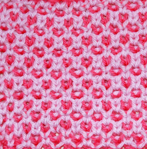 Checked Rose Fabric