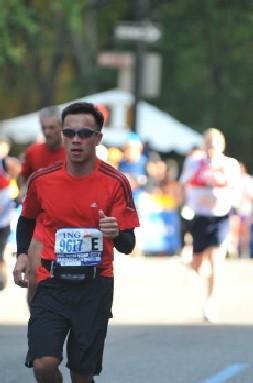Mike_New York Marathon - 2 Nov 2008