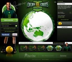 Every Kick Counts Home page