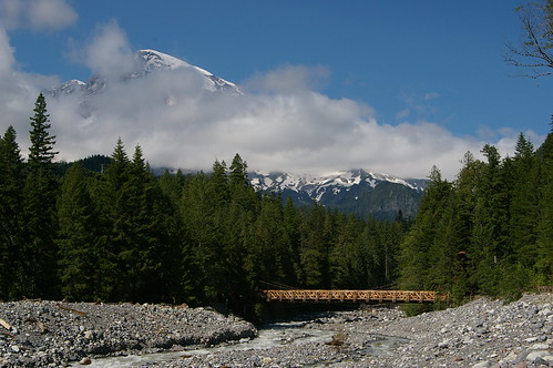 Bridge at Mt. Rainier II