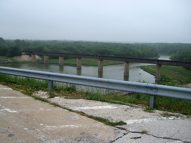 View From Lake Lavon Dam