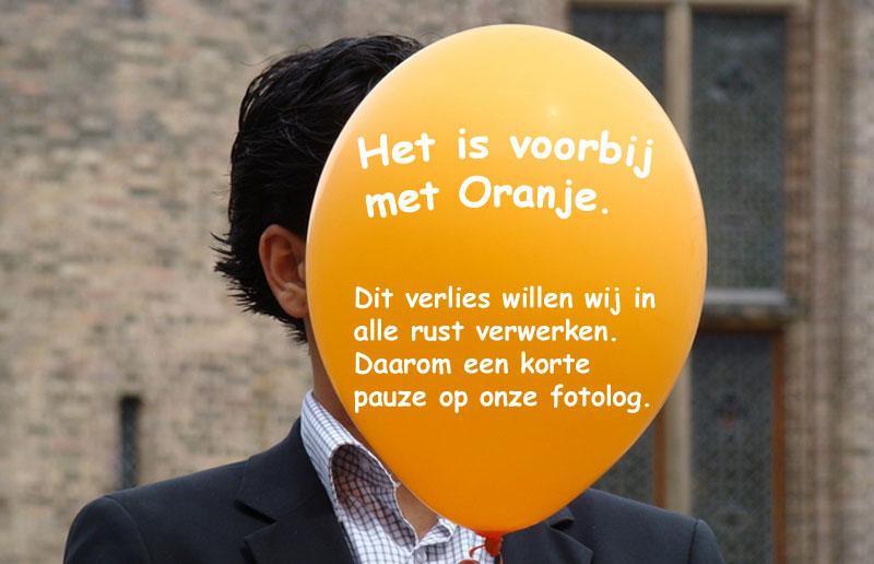 Oranjeballon-spat-uiteen
