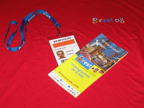 Brest 2008 : Kit bénévole