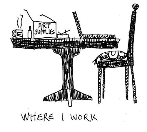 The Authors Desk