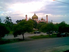 Near the old Kuching mosque