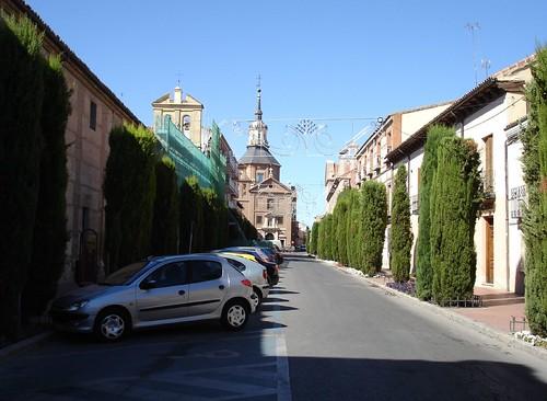 Calle Santa Úrsula en la actualidad