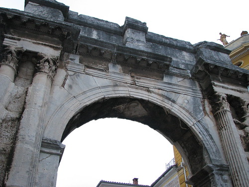 Arch of the Sergii, Pula, by me