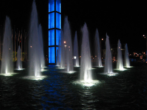 Fountains at Fiera, Rimini