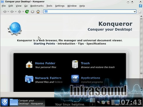 KDE4 konqueror by you.