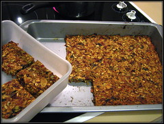 Fruit & Nut Breakfast Bars