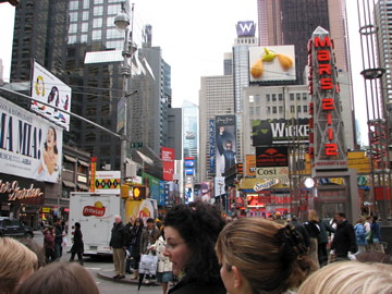 On the streets of NYC March 2008