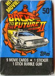 BTTF 2 trading cards