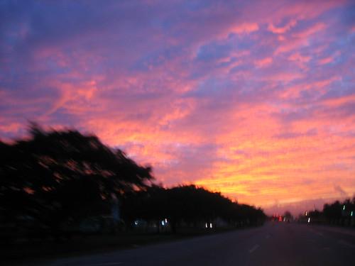 Sunrise in Trinidad